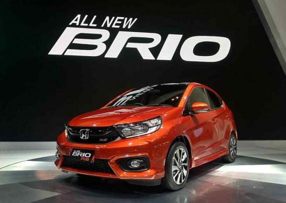 Catat Penjualan Tertinggi di Indonesia, Honda Brio Dorong Penjualan Honda di Tengah Pasar Yang Tidak Stabil