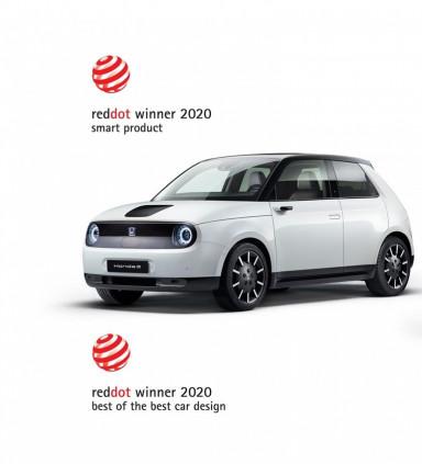Mobil Listrik Honda e Mendapatan Penghargaan Desain Terbaik Dari Red Dot Award 2020